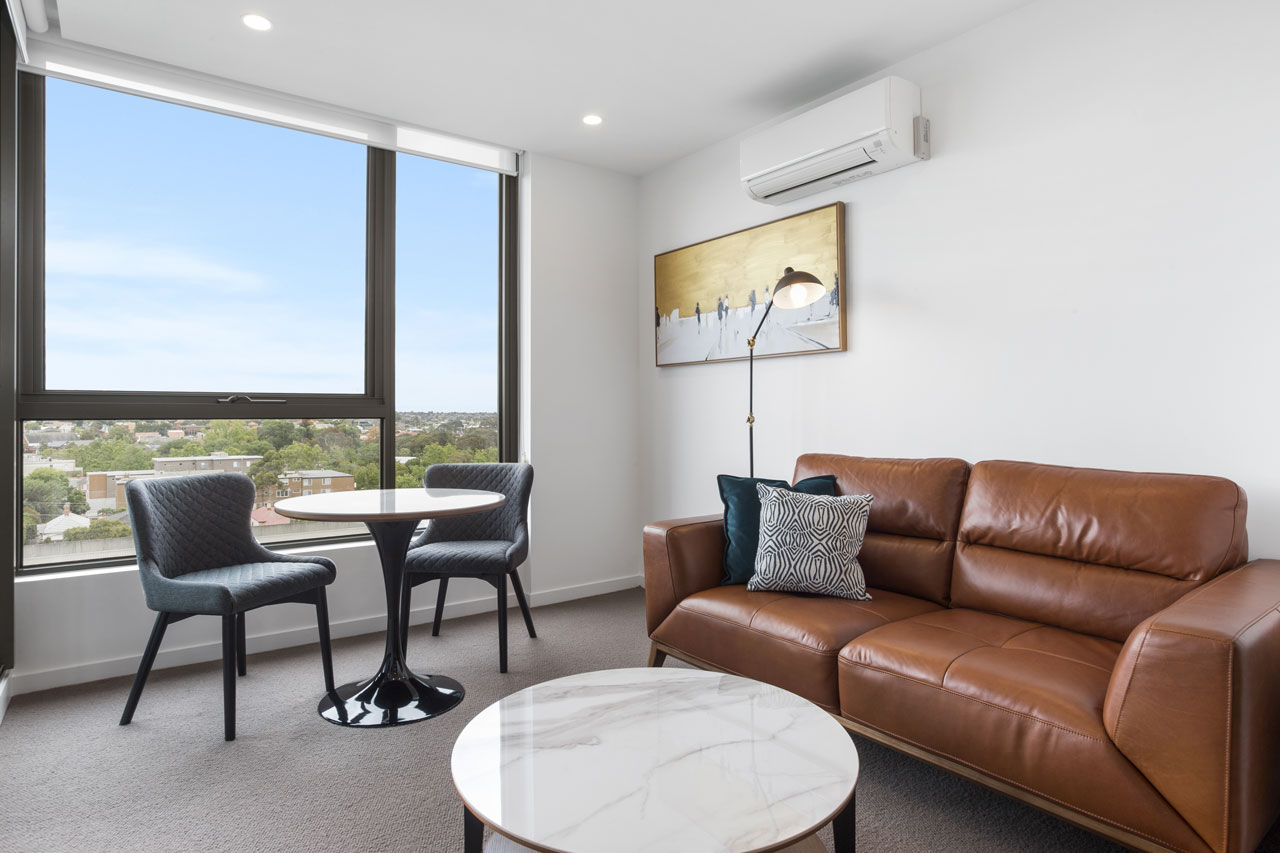 Lounge in 1 bedroom at The Sebel Moonee Ponds