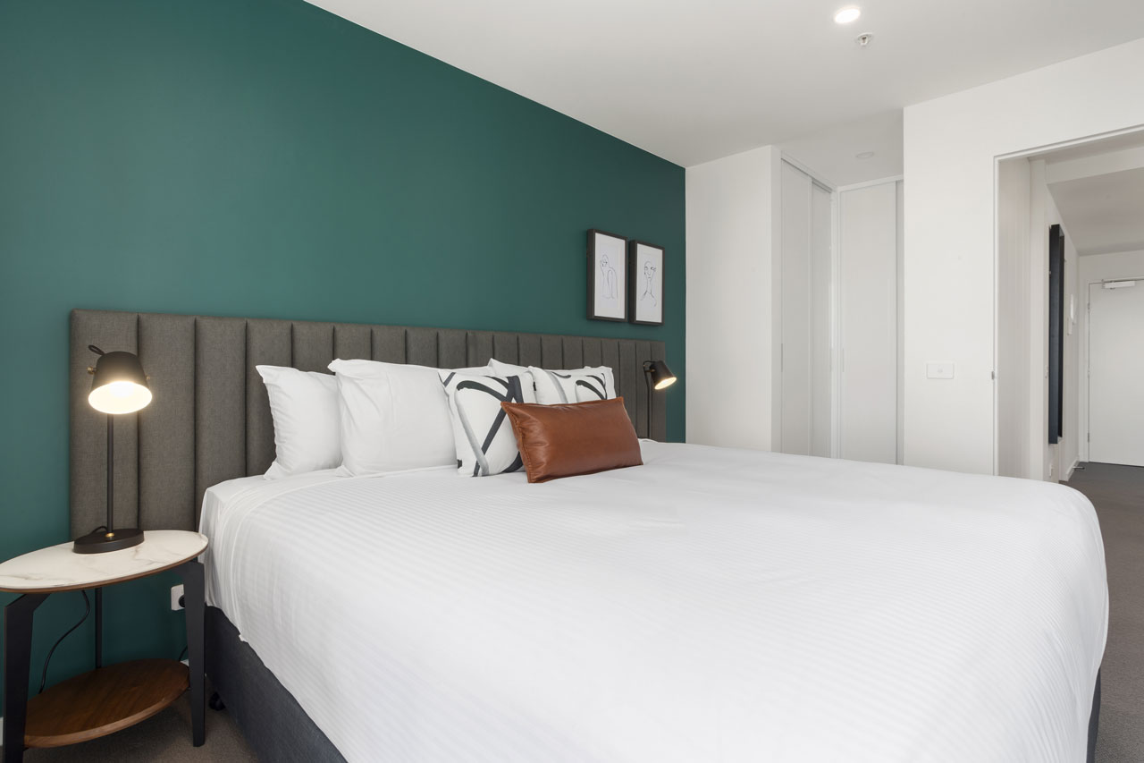 Bedroom at The Sebel Moonee Ponds