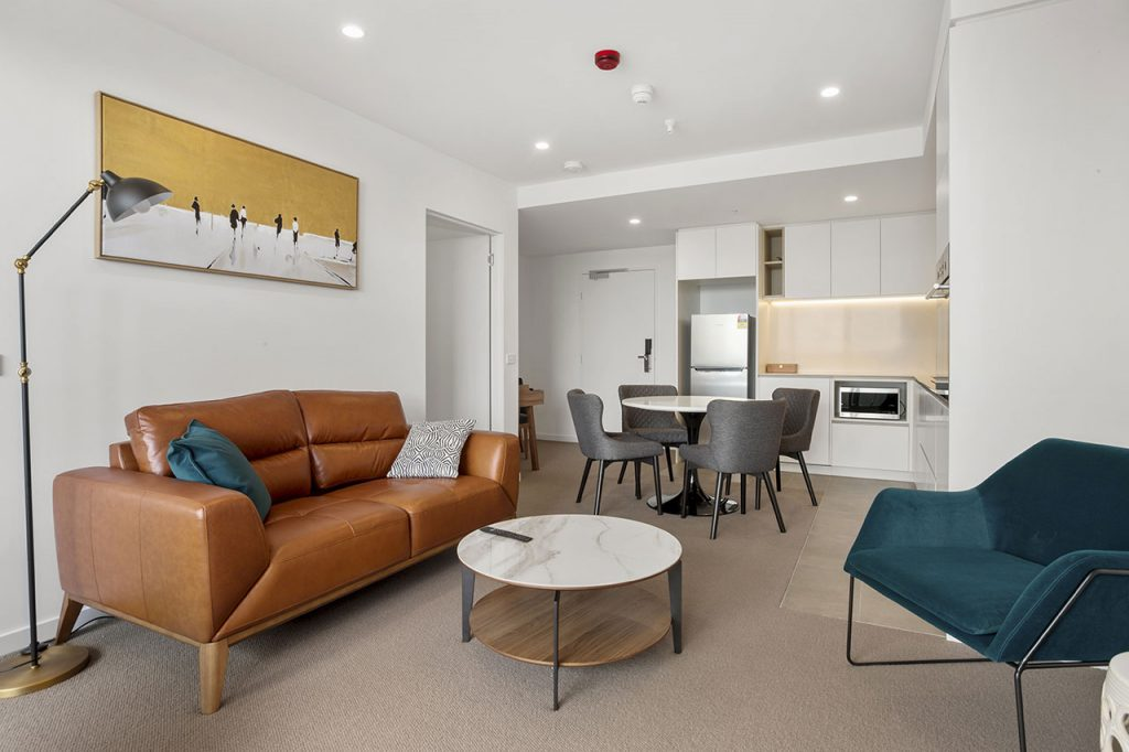 Lounge and dining at The Sebel Moonee Ponds